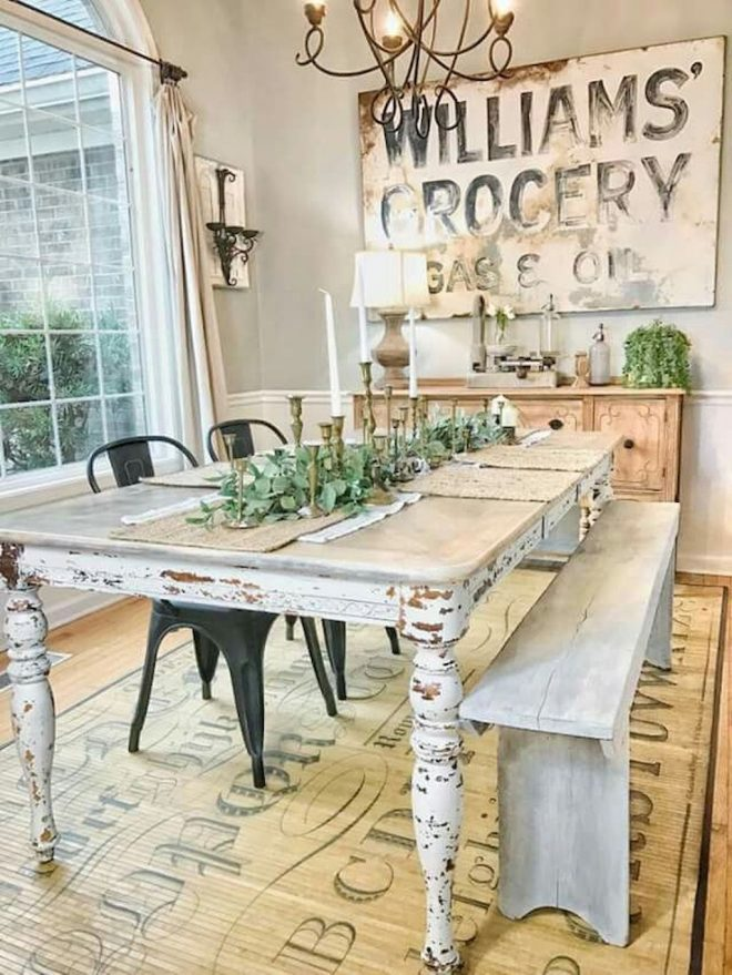 05 fancy french country dining room table decor ideas moodecorco