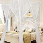 1 pc square mosquito net bed canopy set bedroom decoration