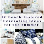 10 beach inspired decorating ideas for the summer arts and