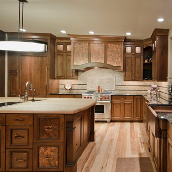 10 different but cool ideas for kitchen cabinet doors