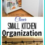 10 ideas for organizing a small kitchen a organized nest