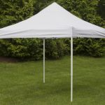 10 x 10 outdoor canopy tent pop up portable square white