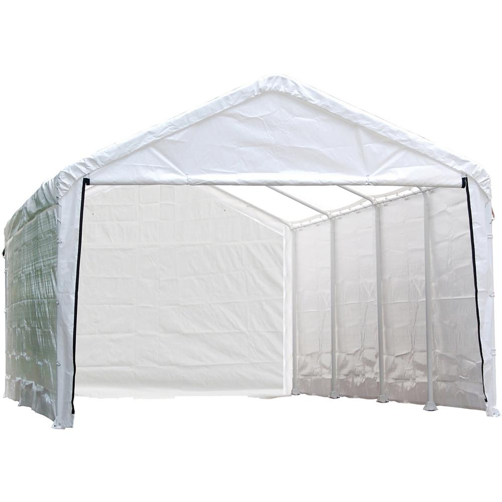10 x 20 ft shelterlogic supermax enclosure kit frame and