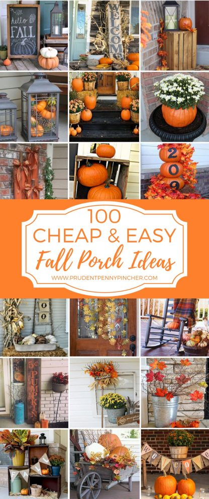 100 cheap and easy fall porch decor ideas fall decor fall