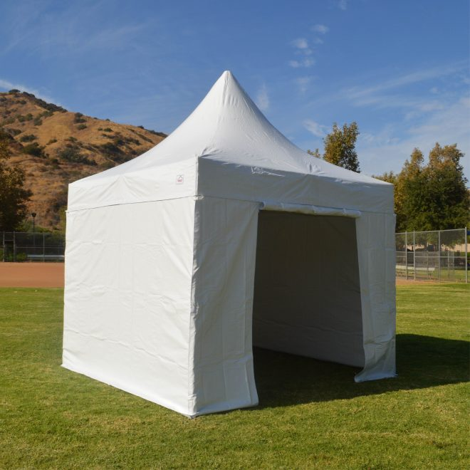 10x10 heavy duty folding high peak marquee canopy tent 100 waterproof pvc fabric with sidewalls