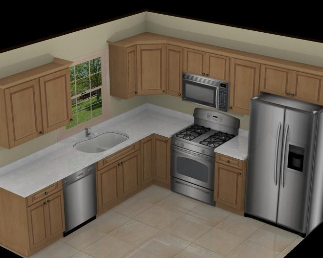 10x10 kitchen remodel in 2019 small kitchen layouts home