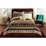 11 piece oversized red black comforter set king size bedding with