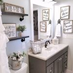 110 fabulous farmhouse bathroom decor ideas home decor