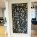12 affordable ideas for large wall decor chalkboard inspirations