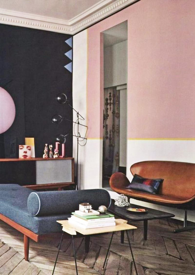 12 more pink rooms to crush on stay living rooms interior