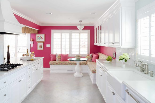 13 pink kitchens kitchen brimming with grown up style