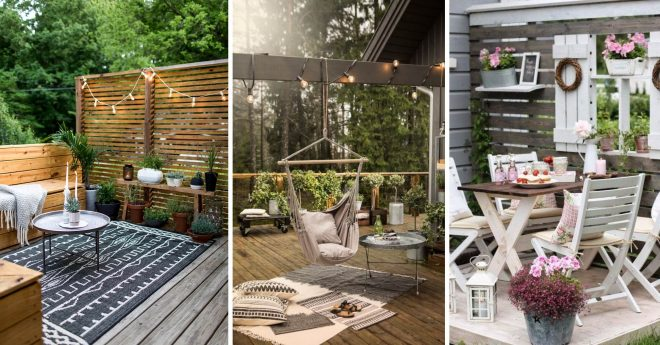 14 brilliant small outdoor space design ideas that will
