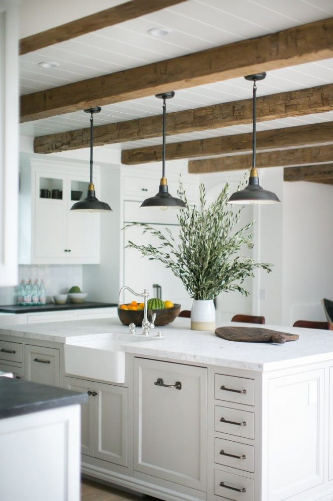 14 stylish ceiling light ideas for the kitchen rustic interiors
