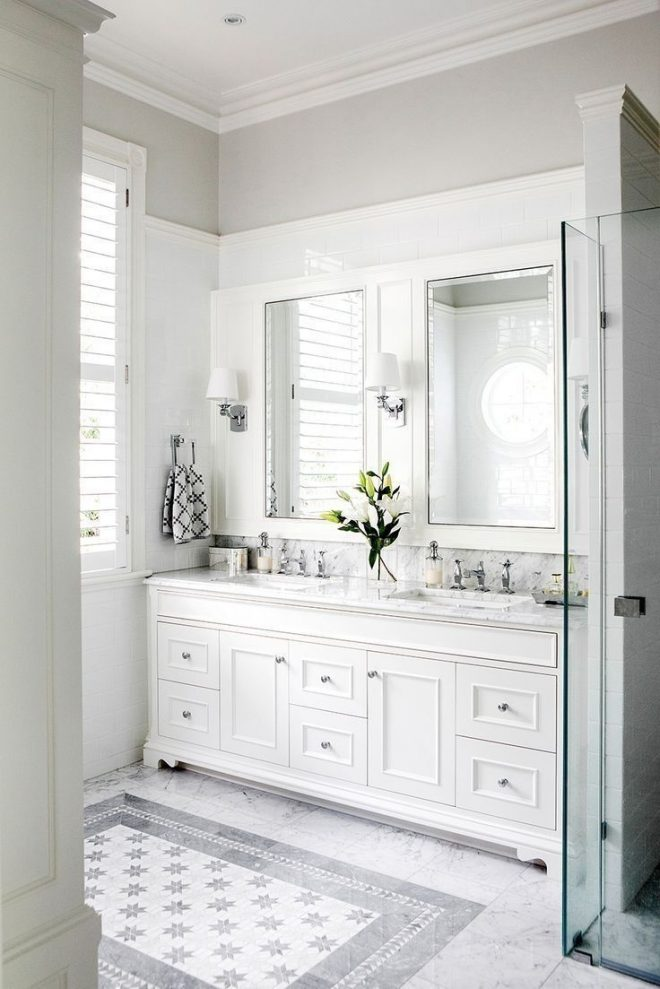 15 beautiful small white bathroom remodel ideas home