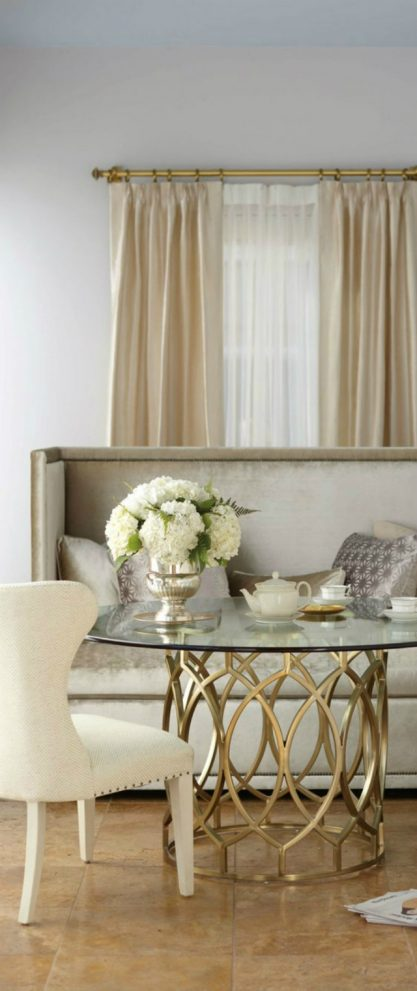 15 interesting combination of gold and silver in furniture