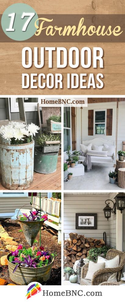 17 best farmhouse outdoor decor ideas and designs for 2019