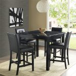 17 black counter height table in dining room inspiration a