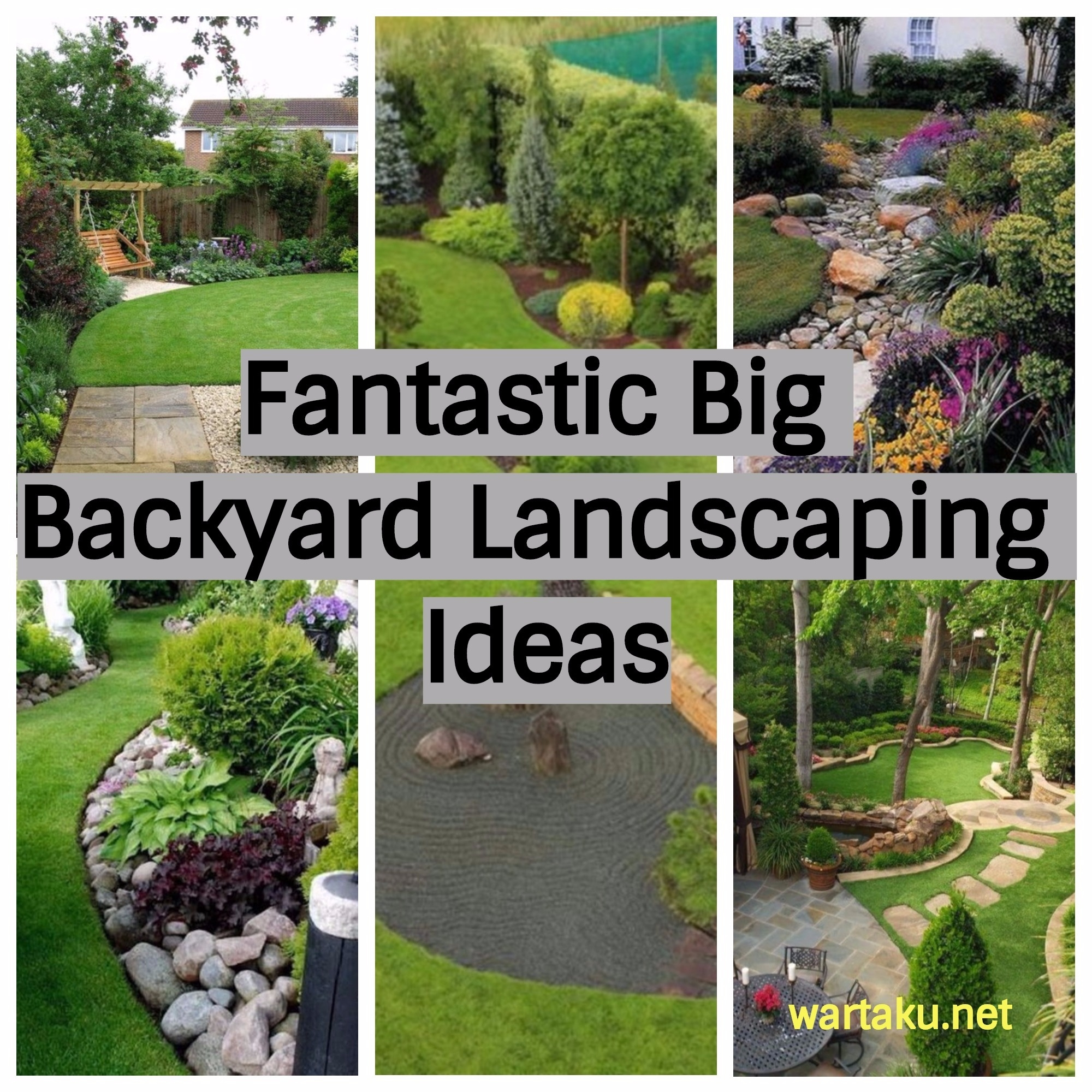 17 fantastic big backyard landscaping ideas wartaku