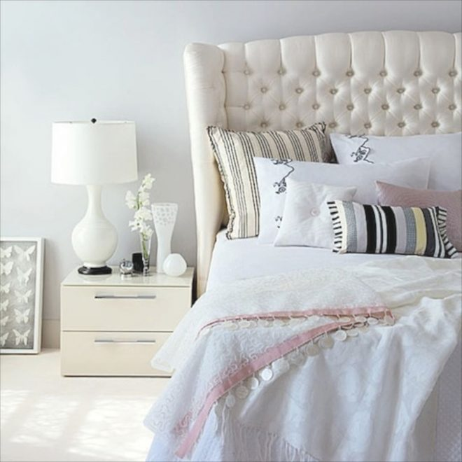 18white color decorating room ideas bedroom luxurious with