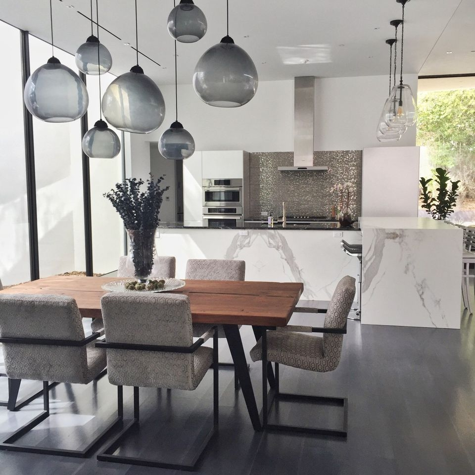 19 ideas for creating a modern dining room