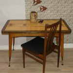 1960s crank table multifunctional table dining table 2tone etsy