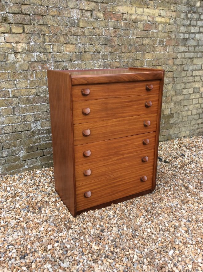 1960s teak chest of drawers tall boy white and newton mid century drawers bedroom furniture six drawer chest teak tallboy