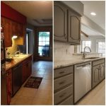 1970s kitchen reimagined project before and afters kitchen