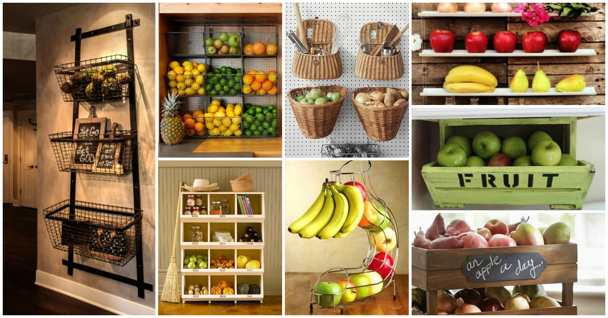 20 adorable fruits storage solutions for your kitchen