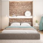 20 bedrooms ideas with exposed brick walls