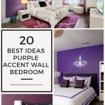 20 best ideas purple accent wall bedroom in 2020 purple