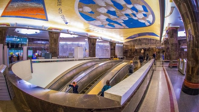 20 moscow metro stations ranging from beautiful to absolutely