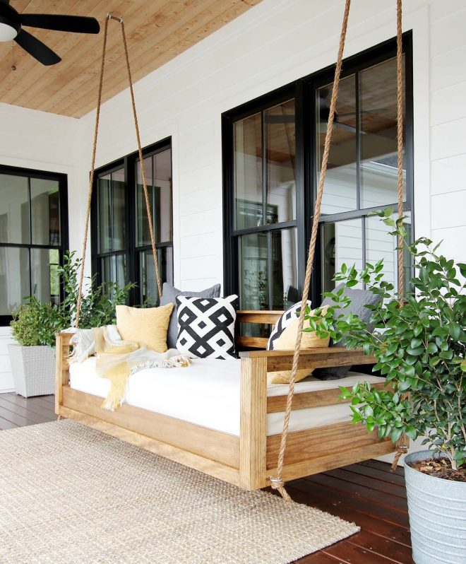 20 porch swing plans diy porch swing