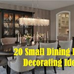 20 small dining room decorating ideas