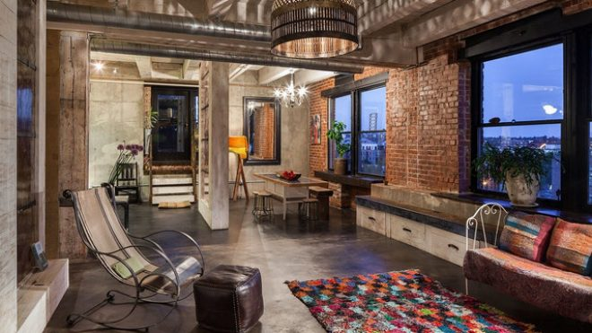 20 wicked industrial living room designs youre going to enjoy
