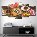 2019 canvas pictures kitchen wall art home decor restaurant fruits foods coffee cake painting modern hd printed poster from printartcanvas 1641