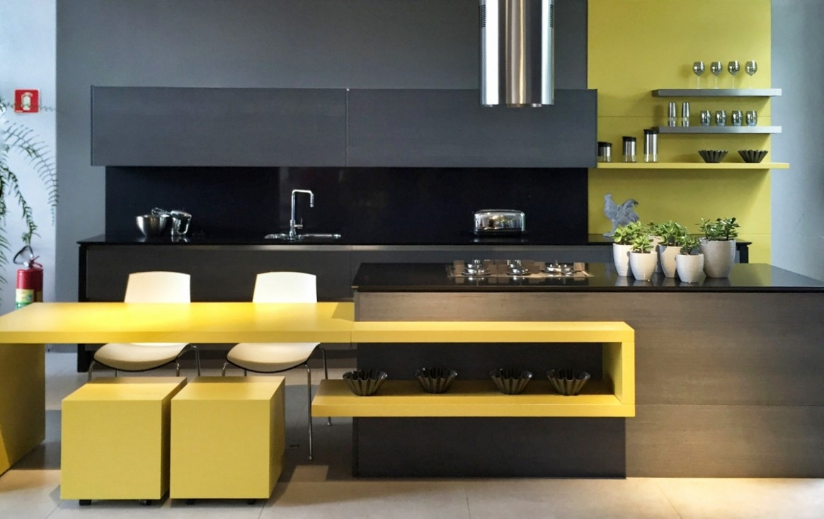 21 great lessons you can learn from blue and yellow kitchen themes