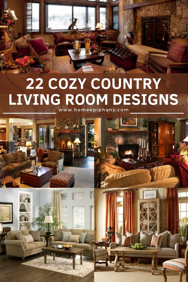 22 cozy country living room designs country livingrooms