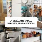 24 creative small kitchen storage ideas shelterness
