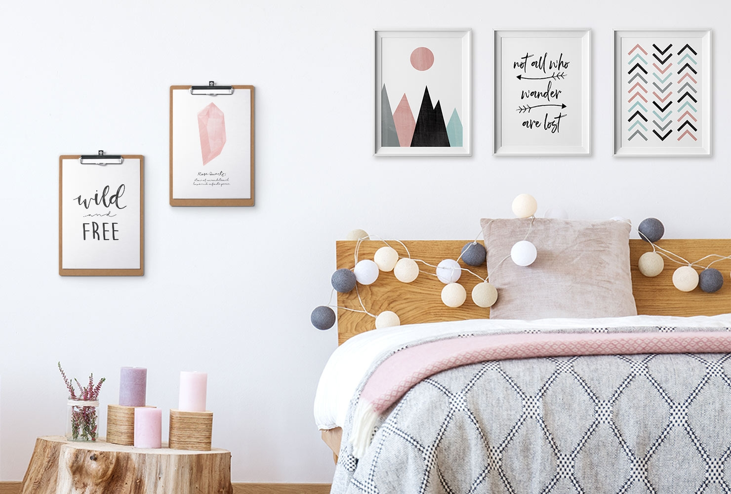 24 diy bedroom decor ideas to inspire you with printables shutterfly