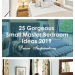 25 gorgeous small master bedroom ideas 2019 decor