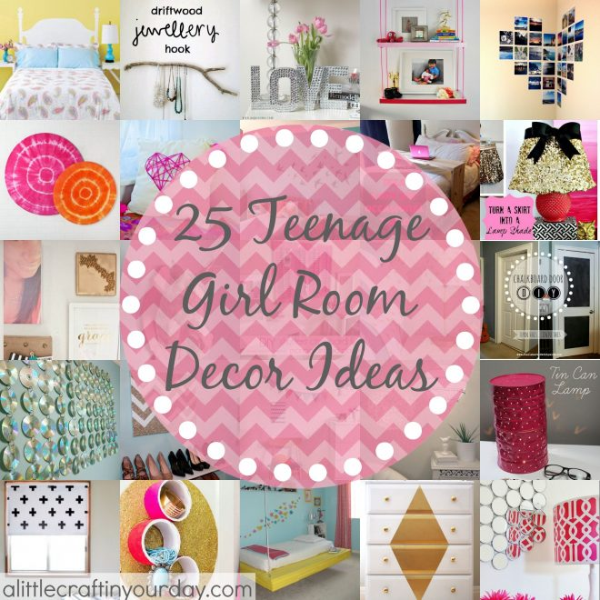 25 more teenage girl room decor ideas a little craft in your day