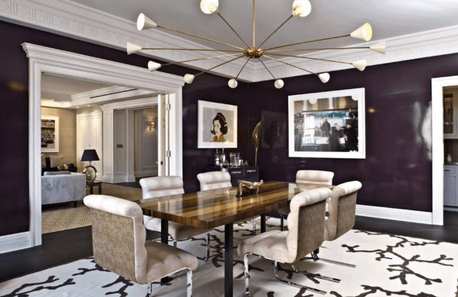 25 purple dining room ideas photos