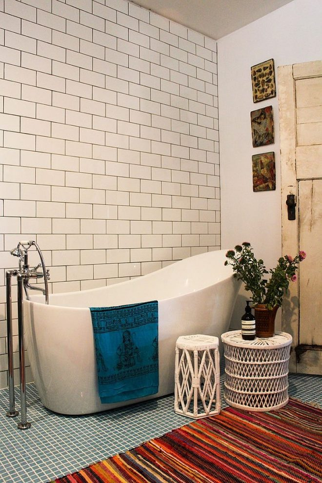 25 stunning eclectic bathroom design ideas