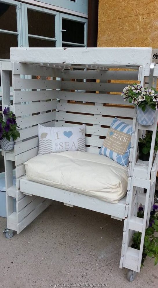 27 best outdoor pallet furniture ideas and designs for 2019