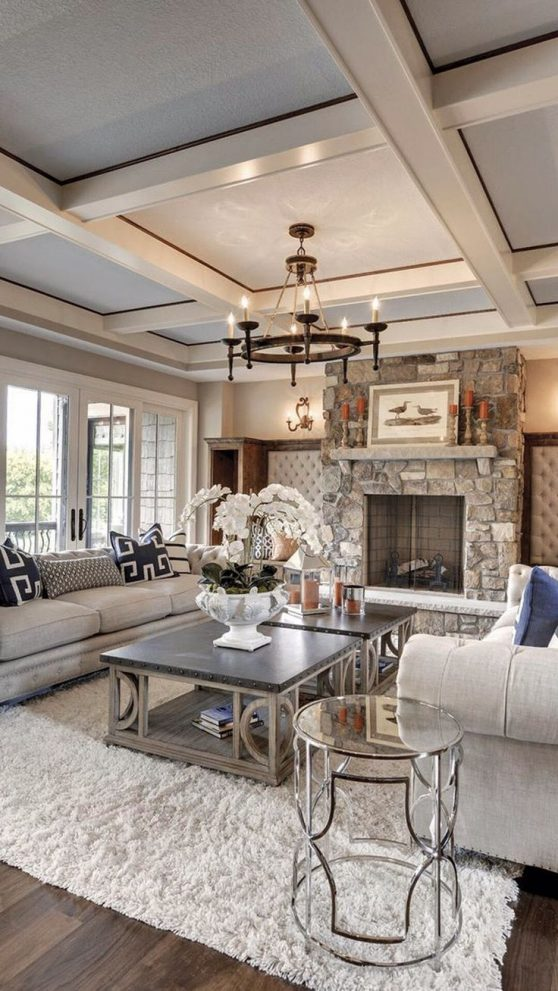 27 breathtaking rustic chic living rooms that you must see living