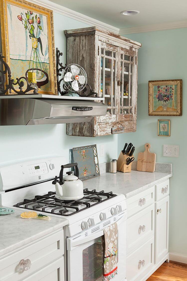 29 best shab chic kitchen decor ideas and designs for 2018