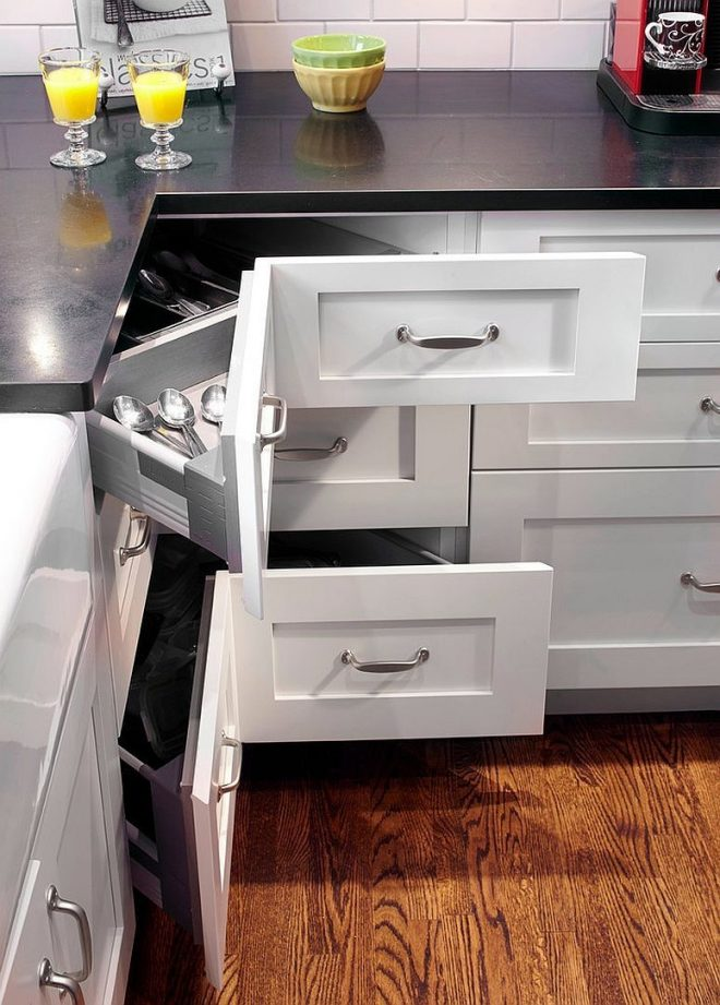 30 corner drawers and storage solutions for the modern