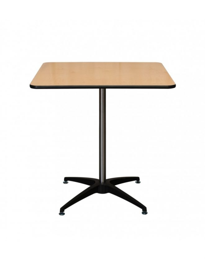30 inch square wood cocktail table kit vinyl edging