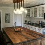 30 rustic diy kitchen island ideas for the home pinterest home