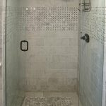30 shower tile ideas on a budget small bathroom with